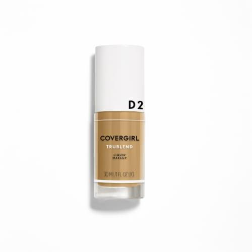 CoverGirl TruBlend Sun Beige Liquid Makeup D2 Perspective: front