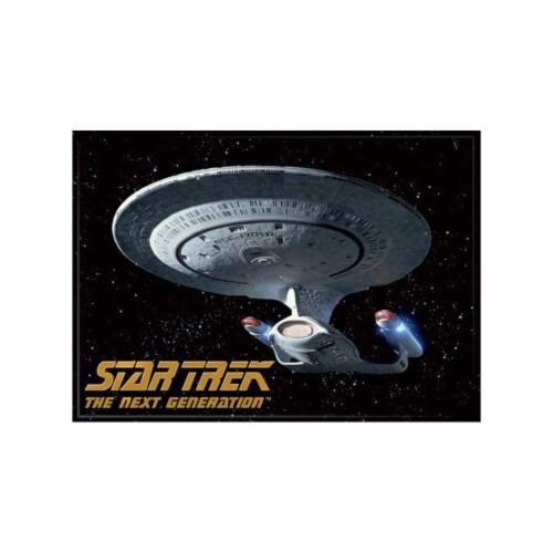Ata-Boy Star Trek Enterprise Starship Magnet Perspective: front