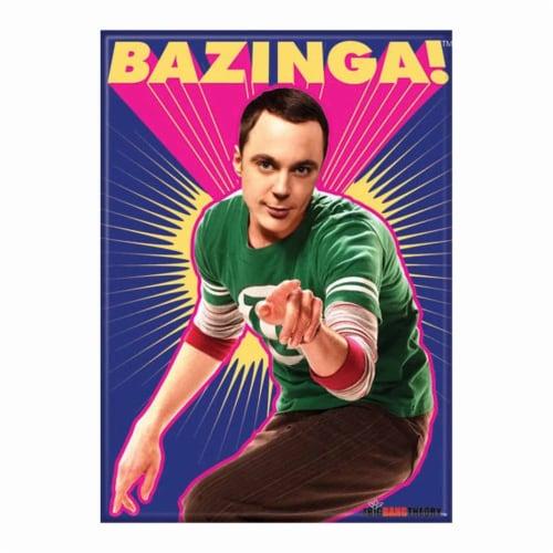 Ata-Boy The Big Bang Theory Bazinga Sheldon Magnet Perspective: front