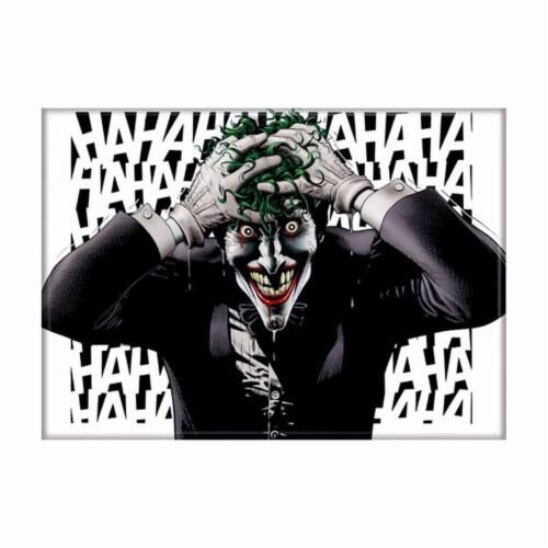 Ata-Boy Batman Killing Joke White Magnet Perspective: front