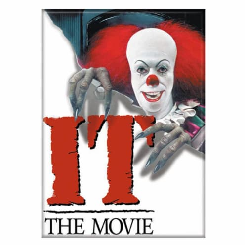 Ata-Boy IT Movie Poster Magnet Perspective: front
