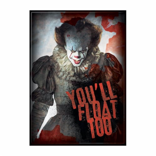 Ata-Boy IT Movie 2017 Pennywise Blood Magnet Perspective: front