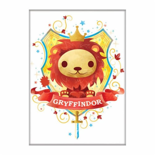 Ata-Boy Harry Potter Charms Gryffindor Magnet Perspective: front