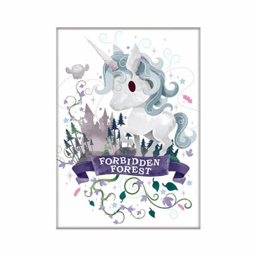 Ata-Boy Harry Potter Charms Forbidden Forest Magnet Perspective: front