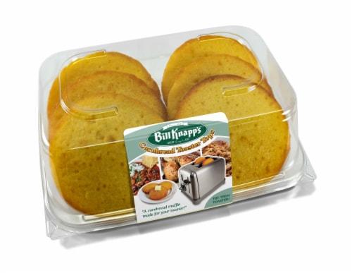 Bill Knapp's Cornbread Toaster Tops 6 Count Perspective: front