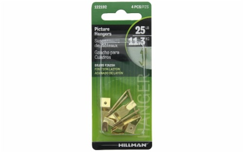 Hillman™ 25 Pound Professional Picture Hangers Perspective: front