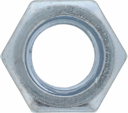 """Hillman 1/4""""-20 Grade 5 Hex Nuts Perspective: front"""