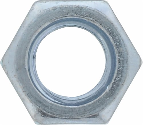 """Hillman 5/16""""-18 Grade 5 Hex Nuts Perspective: front"""