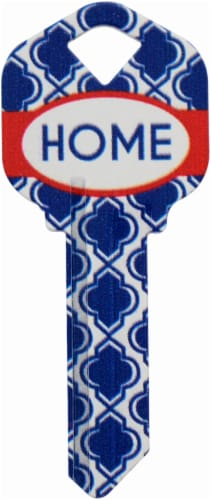 Axxess Wackey KW1 Home Key - Blue Perspective: front