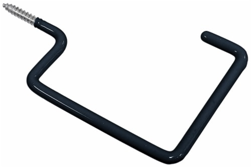 Hillman Storage Hooks - Black Perspective: front