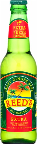 Reed's Extra Ginger Brew Perspective: front