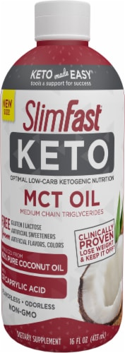 SlimFast Keto MCT Oil Perspective: front