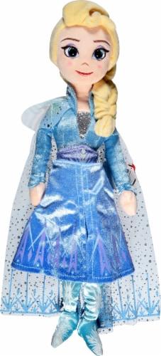 Ty Disney Frozen Elsa Plush Doll Perspective: front