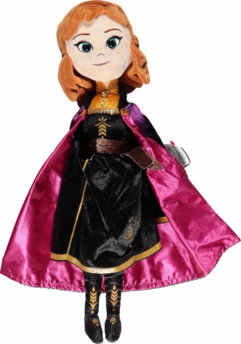 Ty Plush Princess Anna Doll Perspective: front