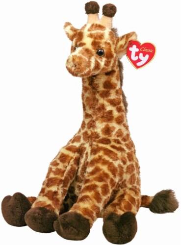 Ty Classic Plush Giraffe - Hightops Perspective: front