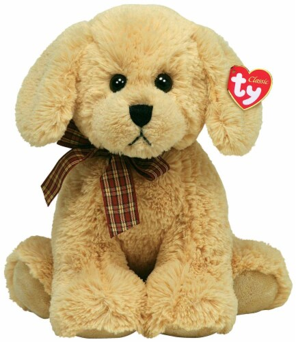 Ty Classic Plush Dog - Goldwyn Perspective: front