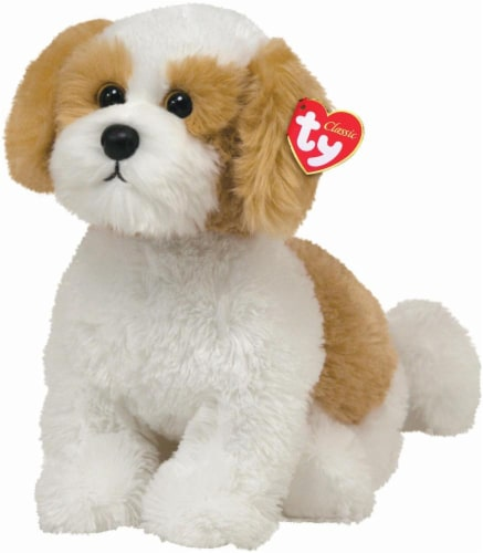 Ty Classic Plush Dog - Barley Perspective: front