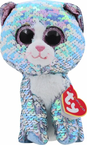 Ty Whimsy the Cat Flippables Beanie Boo Perspective: front