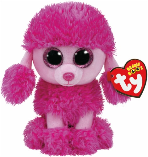 Ty Beanie Boos Patsy Plush Poodle Perspective: front