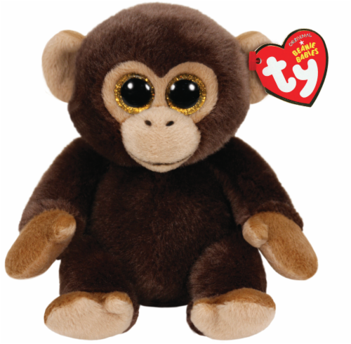Ty Beanie Babies Bananas Plush Monkey Perspective: front