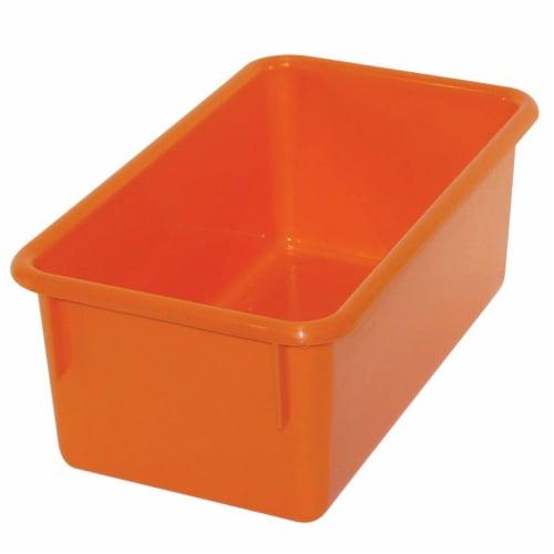 Stowaway® Tray no Lid, Orange Perspective: front
