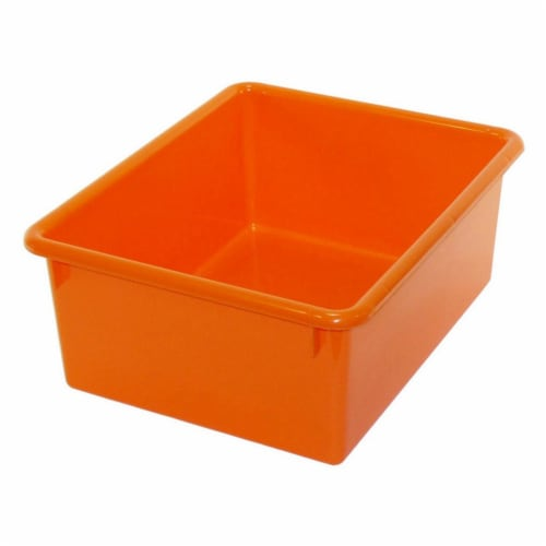 Stowaway® 5  Letter Box no Lid, Orange Perspective: front