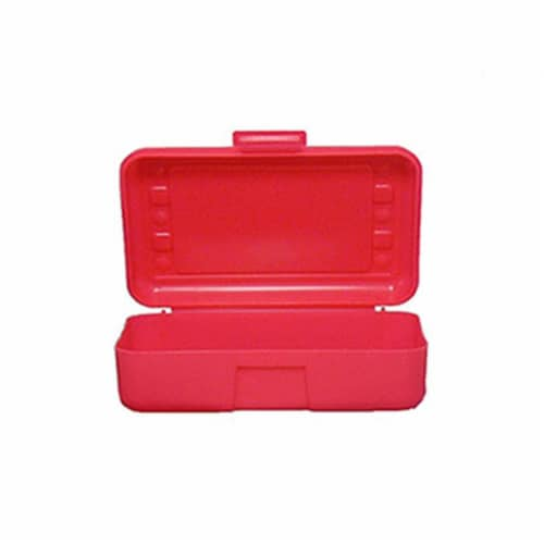 Pencil Box, Red Perspective: front