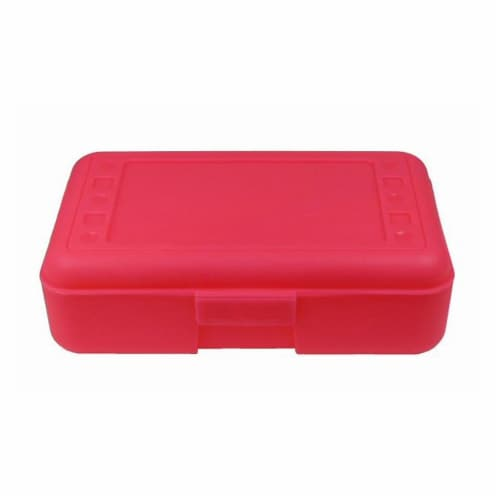 Pencil Box, Hot Pink Perspective: front