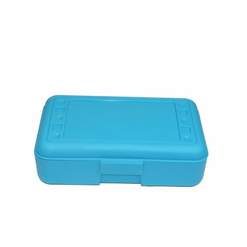 Pencil Box, Turquoise Perspective: front