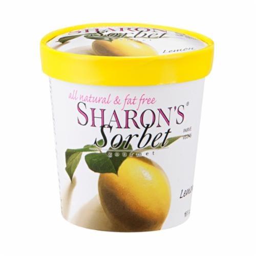 Sharon's Lemon Sorbet Perspective: front