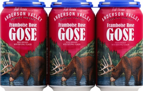 Anderson Valley Framboise Rose Gose Perspective: front