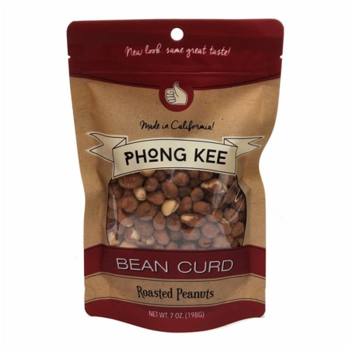 Phong Kee Bean Curd Roasted Peanuts Perspective: front