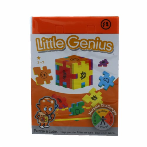 Little Genius Foam Puzzle Single Pack - Color may vary Perspective: front