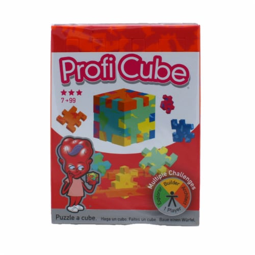 Profi Cube Foam Puzzle Single Pack - Color may vary Perspective: front