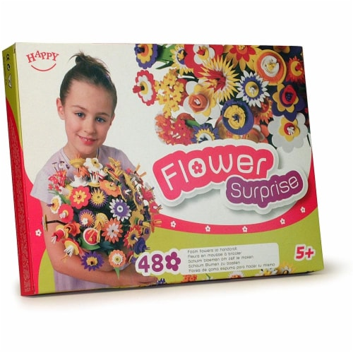 Flower Surprise Craft Kit Perspective: front