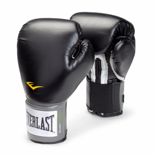 Everlast EverFresh Pro Style Training Gloves - Black Perspective: front