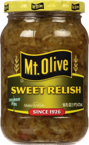Mt. Olive Sweet Relish Perspective: front