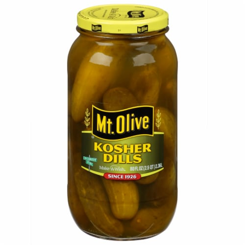 Mt. Olive Kosher Dill Pickles Perspective: front