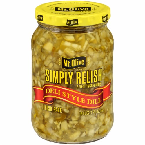 Mt. Olive Simply Relish Deli Style Dill Perspective: front