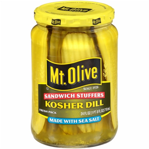 Mt. Olive Kosher Dill Sandwich Stuffers Perspective: front