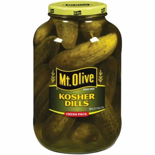 Mt. Olive Fresh Kosher Dill Pickles Perspective: front