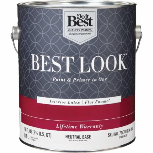 Do it Best Int Flat Neutrl Bs Paint HW36A0750-16 Perspective: front