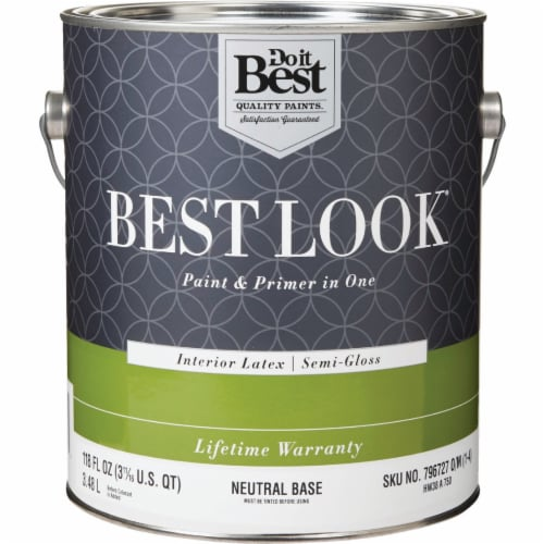 Do it Best Int S/G Neutral Bs Paint HW38A0750-16 Perspective: front