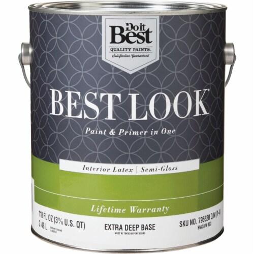 Do it Best Int S/G Ex Deep Bs Paint HW38W0803-16 Perspective: front