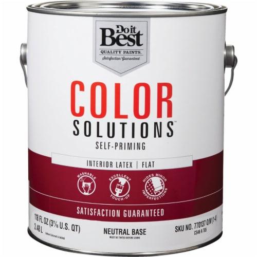 Do it Best Int Flt Neutral Bs Paint CS46A0705-16 Perspective: front