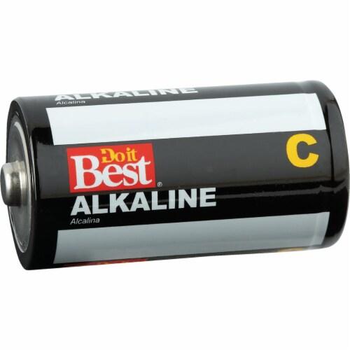 Do it Best C Alkaline Battery (4-Pack) DIB814-4 Perspective: front