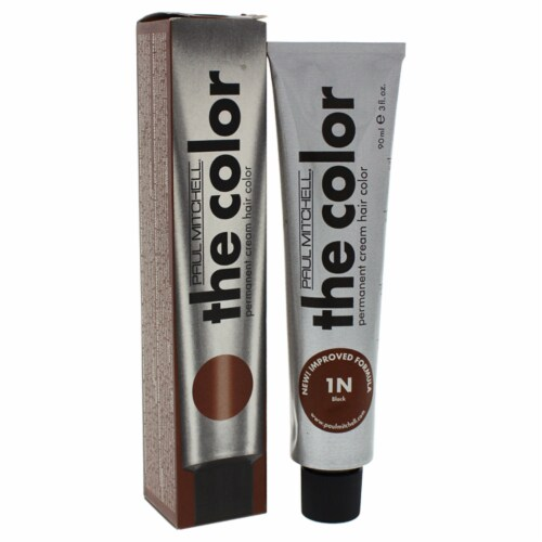 The Color Permanent Cream Hair Color - # 1N Black Perspective: front