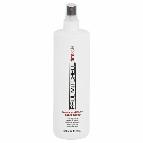 Paul Mitchell Freeze and Shine Super Spray Perspective: front