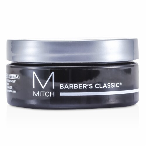 Paul Mitchell Mitch Barber's Classic Moderate Hold Pomade Perspective: front
