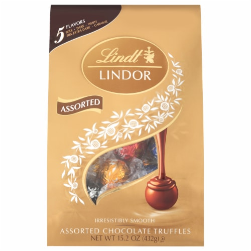 Lindt Lindor Assorted Truffles Perspective: front
